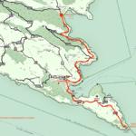 Cartina - Sentiero dei baci