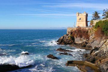 la torre Gropallo della passeggiata Anita Garibaldi