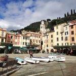 La famosa piazzetta di Portofino