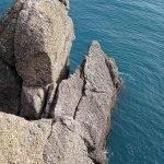 Scogli presso il faro di Portofino