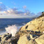 lungomare europa varazze-cogoleto rocce bianche