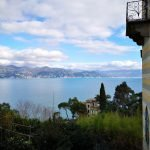 Vista sul golfo e Villa Olivetta