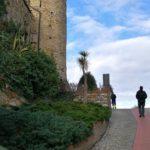 Il castello dei Clavesana a Cervo