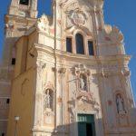 Cervo - chiesa dei corallini - facciata