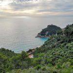 Punta Crena vista dal sentiero per la Torre delle Streghe