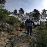 Sul sentiero per la torre delle streghe a Varigotti