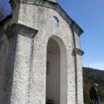 la cappella di Sant'Anna sopra Alpicella
