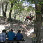a cavallo al Giandriale