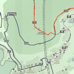 Cartina - Manarola - attacco sentiero