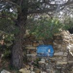 la targa di Thor Heyerdahl a Colla Micheri