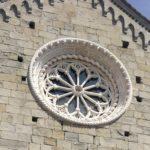 il rosone della chiesa di San Pietro di Corniglia