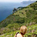 vista dal sentiero da Manarola a Corniglia