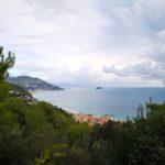 Panorama su Laigueglia