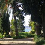 vialetto a Villa Pergola ad Alassio