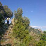 varco in pietra sul sentiero per San Nicolao