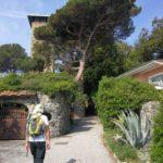 dietro la villa del Gigante