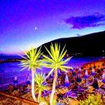 moneglia by night