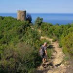 Sentiero per il torrione di Punta Baffe