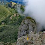 Vista su Monte Pennino dal Monte Penna