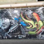 Graffito su De André
