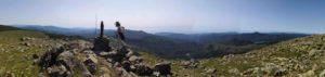 panorama dalla Madonnina del Monte Aiona