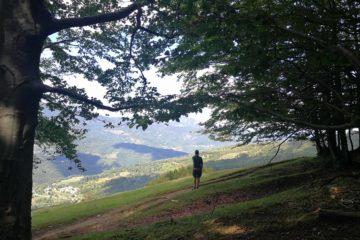 Panorama dal sentiero per Monte Orocco