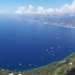 panorama dalla Rocca del falco sul monte di Portofino