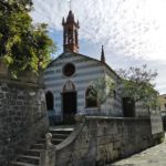 La chiesa della Madonna della Neve nel borgo di Anzo
