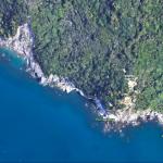 Punta Bianca e Cala Marola viste da Google Earth