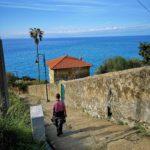 La scalinata da Ravecca ad Anzo