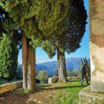 Ciaixe - Cappella Madonna della Neve - sagrato