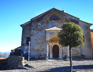 Lingueglietta - chiesa della Natività di Maria Vergine