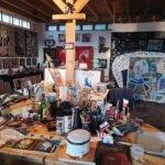 l'atelier di Carin Grudda a Lingueglietta