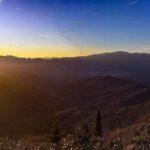 bajardo - panorama al tramonto