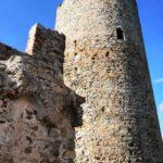 Noli - le torri del Castello di Monte Ursino