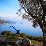 Panorama sull'isola di Bergeggi e Spotorno