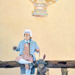 Bellissimi - murale Montgolfier