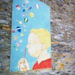 Murale a Bellissimi - Dolcedo