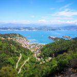 Panorama su Le Grazie e il Golfo di La Spezia