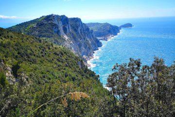 Da Campiglia a Portovenere - panorama