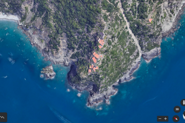 Monesteroli vista da Google Earth