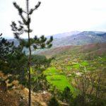 Monte Dragnone - vista dal sentiero
