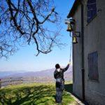 Monte Dragnone - campane del santuario