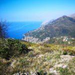 Vista dal sentiero per Sant'uberto