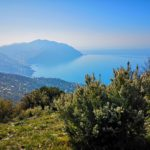Vista del Monte di Portofino da Sant'Uberto