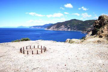 Bonassola - Salto della Lepre - panorama a ponente