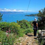 Portovenere - scendendo dal Rifugio Muzzerone