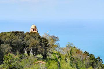 Santuario della Madonna di Montenero - spunta il campanile