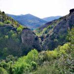 Il ponte di Nascio e il Monte Bocco visti dalla strada da Nascio a Cassagna