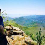 Monte Zatta - belvedere sul sentiero per la cresta